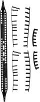 Протектор для теннисной ракетки Babolat BG Pa/Pa+/Tour/Jr 26-25 / 900152-105 (черный) -