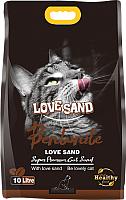 Наполнитель для туалета Love Sand Кофе / LS-010 (10л) -
