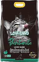 Наполнитель для туалета Love Sand Яблоко / LS-012 (10л) -