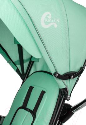 Детский велосипед с ручкой Sundays Для двойни / SJ-5231 (зеленый)
