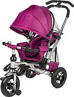 Детский велосипед с ручкой Sundays SJ-10 (фиолетовый) -