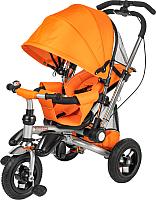 Детский велосипед с ручкой Sundays SJ-10 (оранжевый) -