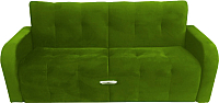 Диван Промтрейдинг Марсель (велюр зеленый) -