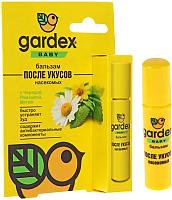 Бальзам после укусов насекомых Gardex Baby 0123 после укусов насекомых (7мл) -