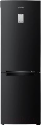 Холодильник с морозильником Samsung RB33J3420BC/WT - вид спереди