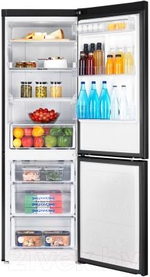 Холодильник с морозильником Samsung RB33J3420BC/WT - камеры хранения