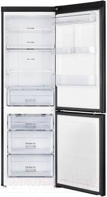 Холодильник с морозильником Samsung RB33J3420BC/WT - внутренний вид