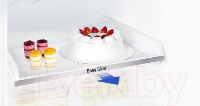 Холодильник с морозильником Samsung RB33J3420BC/WT