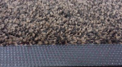 Коврик грязезащитный Kleen-Tex Entrance (85x150, черно-коричневый) - бортик