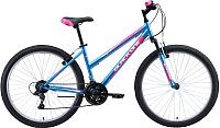 Велосипед Black One Alta 26 2020 (16, голубой/розовый/белый) -