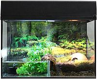 Террариум Lucky Reptile Стартовый комплект для амфибий / SK50BP-B (черный) -