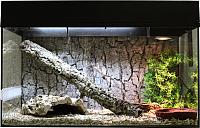 Террариум Lucky Reptile Стартовый комплект для змей /  SK80S-B (черный) -