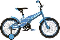 Детский велосипед STARK Tanuki 16 Boy 2020 (голубой/белый) -