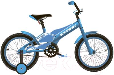 Детский велосипед STARK Tanuki 16 Boy 2020 (голубой/белый)