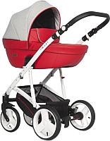 Детская универсальная коляска Riko Basic Aicon 3 в 1 (04/красный) -
