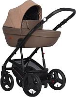 Детская универсальная коляска Riko Basic Aicon 3 в 1 (10/коричневый) -