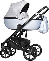 Детская универсальная коляска Riko Basic Ozon Shine 3 в 1 (02/голубой) -