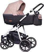 Детская универсальная коляска Riko Swift Natural 3 в 1 (04/Latte/бежевый) -