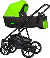 Детская универсальная коляска Riko Swift Neon 3 в 1 (21/ufo green) -
