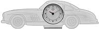 Настольные часы Mercedes-Benz B66041613 -