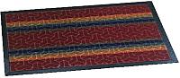 Коврик грязезащитный Shahintex Lux Multicolor 60x90 (бордовый) -