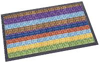 Коврик грязезащитный Shahintex Lux Multicolor 60x90 (радуга) -