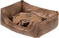 Лежанка для животных Duvo Plus Explorer Bed / 300023/DV (коричневый) -