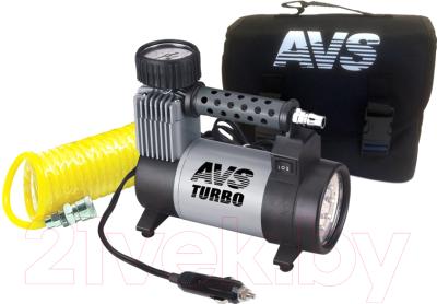 Автомобильный компрессор AVS Turbo KS 450L /80507