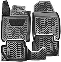 Комплект ковриков для авто AVS для Kia Rio SK-62 / A78977S (4шт) -