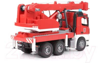 Автомобиль игрушечный Bruder Пожарная машина автокран MB Arocs / 03675
