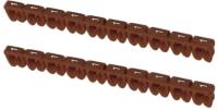 Маркер кабельный TDM SQ0534-0047 (100шт, коричневый) -