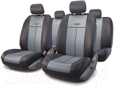 Чехол для сиденья Autoprofi TT-902P BK/D.GY
