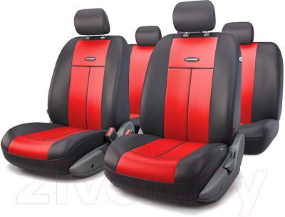Чехол для сиденья Autoprofi TT-902P BK/RD