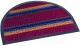 Коврик грязезащитный Shahintex Полукруглый Lux Multicolor 45x75 (бордовый) -