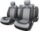 Чехол для сиденья Autoprofi Extreme XTR-803 BK/GY (M) -