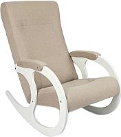 Кресло-качалка Calviano Бастион 3 (United 3/белый) -