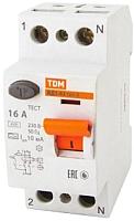 Дифференциальный автомат TDM ВД1-63-2Р-50А-30мА тип А / SQ0203-0079 -