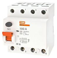 Дифференциальный автомат TDM ВД1-63-4Р-100А-300мА / SQ0203-0049 -