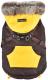 Жилетка для животных Puppia Orson / PARD-VT1569-BR-M (M, коричневый) -
