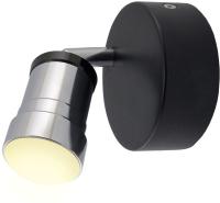 Спот TDM SQ0358-0228 (черный/хром) -