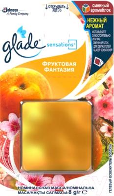 Сменный блок для освежителя воздуха Glade Sensations Фруктовая фантазия