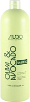 Шампунь для волос Kapous Studio Professional увлажняющий с маслами авокадо и оливы (1л) -