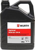 Моторное масло Wurth Triathlon Ultra 10W40 / 0897110402 (5л) -