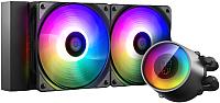Кулер для процессора Deepcool Castle 240RGB V2 (DP-GS-H12AR-CSL240V2) -