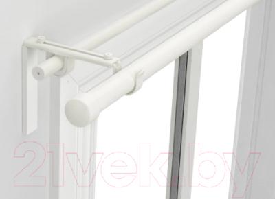 Карниз для штор Ikea Хугад/Рэкка 093.261.98