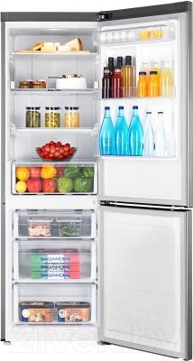 Холодильник с морозильником Samsung RB33J3420SA/WT - камеры хранения