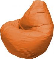Бескаркасное кресло Flagman Груша Мега Г3.1-10 (оранжевый) -