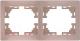 Рамка для выключателя Lezard Mira 701-0300-147 -