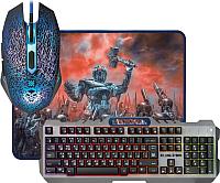 Клавиатура+мышь Defender Killing Storm MKP-013L RU / 52013 (с ковриком) -