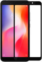 Защитное стекло для телефона Volare Rosso Fullscreen full glue для Redmi 6A (черный) -